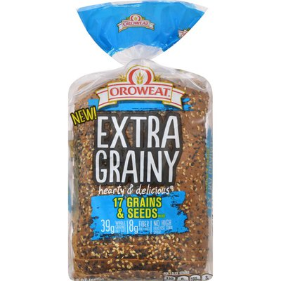 Oroweat Whole Grains 17 Grains & Seeds Bread