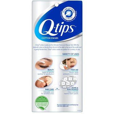 Q-tips Cotton Swabs Original