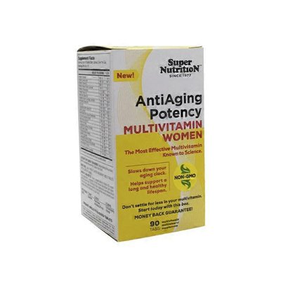SuperNutrition AntiAging Potency Multivitamin For Women Capsules