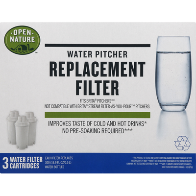 Open Nature Replacement Filter, Water Pitcher