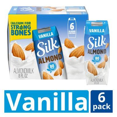 Silk Shelf-Stable Vanilla Almond Milk Singles