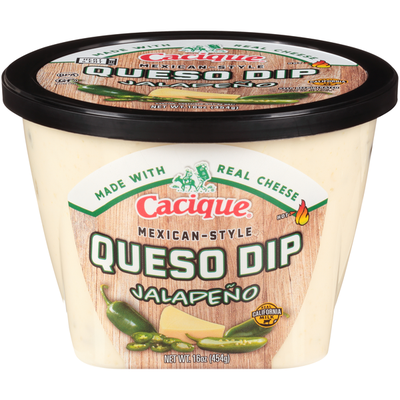 Cacique Jalapeño Mexican-Style Mild Queso Dip