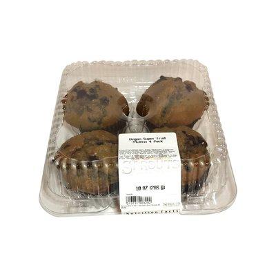 Super Fruit Vegan Muffins