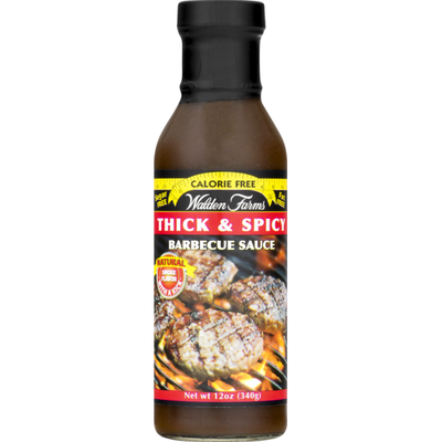 Walden Farms Barbecue Sauce, Thick & Spicy
