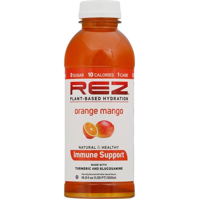 Rez Plant-Based Hydration, Orange Mango