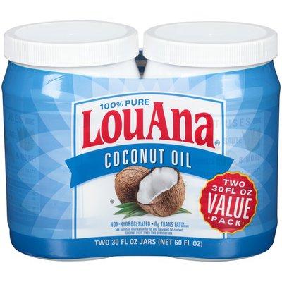 LouAna 100% Pure Coconut Oil