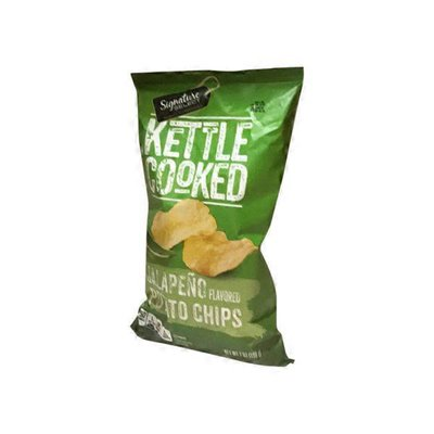 Signature Select Jalapeno Kettle Cooked Chips