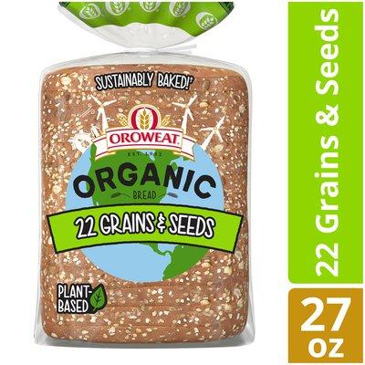 Brownberry/Arnold/Oroweat Organic 22 Grains & Seeds Bread