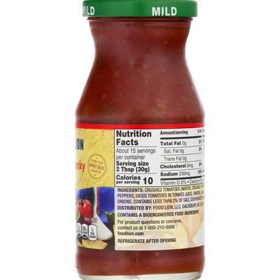 Food Lion Salsa, Thick & Chunky, Mild
