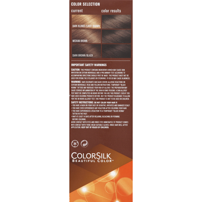 Colorsilk Permanent Color, Dark Brown 30