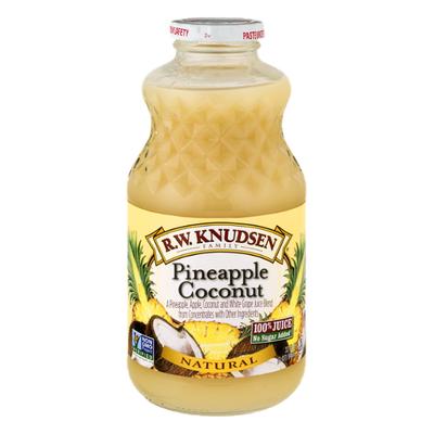 R W  Knudsen 100% Juice, Pineapple Coconut