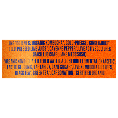 Health-Ade Kombucha, Cayenne Cleanse