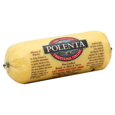San Gennaro Foods Polenta, Traditional Italian