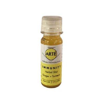 Arte Wellness Immunity Shot With Turmeric, Ginger, Lemon, Hemp Seed Oil