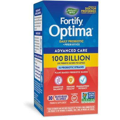 Nature's Way Fortify® Optima® Advanced Care 100 Billion Probiotic + Prebiotic