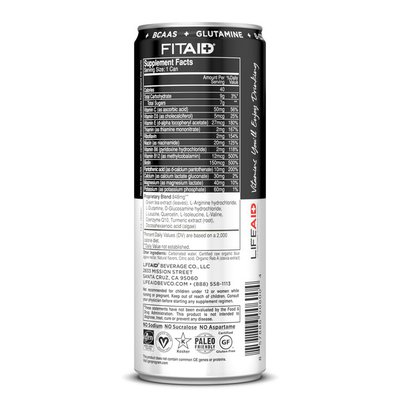 LIFEAID Beverage Company FITAID Sports Recovery Drink, Citrus Medley Flavor