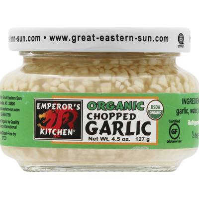 Emperors Kitchen Garlic, Organic, Chopped