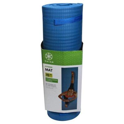 Gaiam Fitness Mat, 15 mm