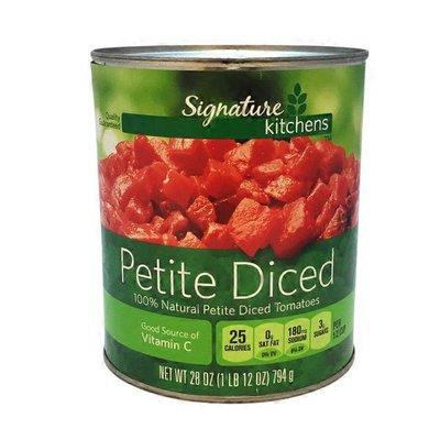 Signature Kitchens Petite Diced Tomatoes