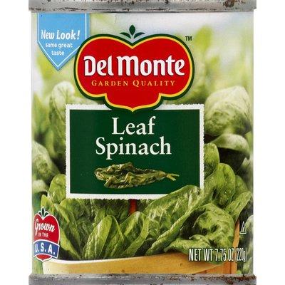 Del Monte Spinach, Leaf
