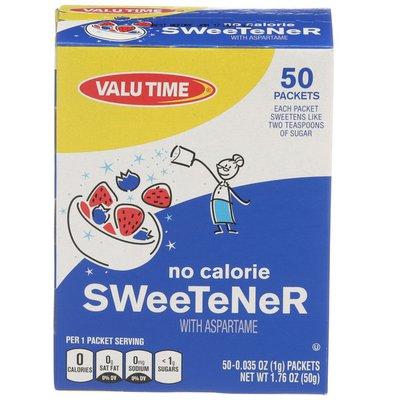 Valu Time Aspartame Sweetener