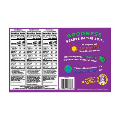 Annie's Organic Mac and Cheese Variety Pack, 12 Count