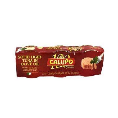 Callipo Solid Light Tuna In Olive Oil Yellowfin
