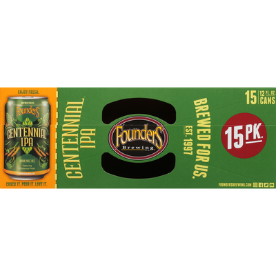 Founders Centennial IPA Beer Cans