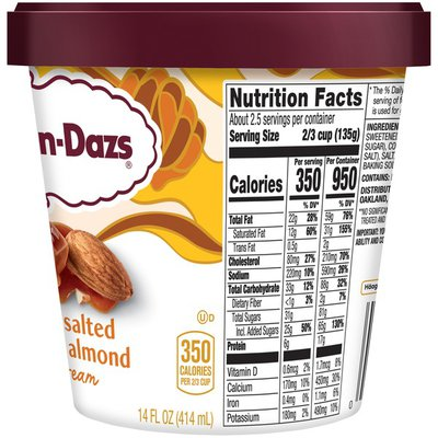 Haagen-Dazs Honey Salted Caramel Almond Ice Cream