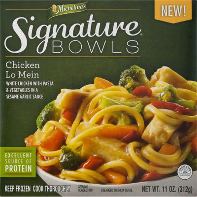 Michelina's Signature Bowls Chicken Lo Mein