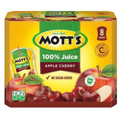 Mott's 100% Juice Apple Cherry
