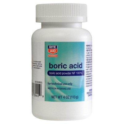 Rite Aid Boric Acid, Powder NF, 4 oz (113 g)