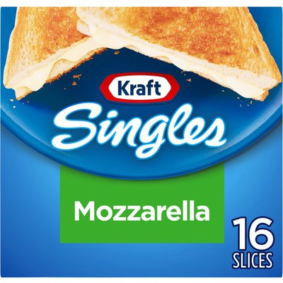 Kraft Mozzarella Cheese Slices