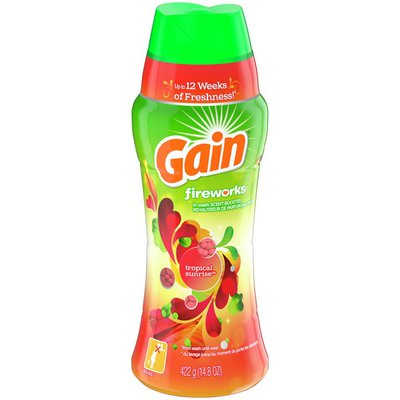 Gain In-Wash Scent Booster Beads, Tropical Sunrise