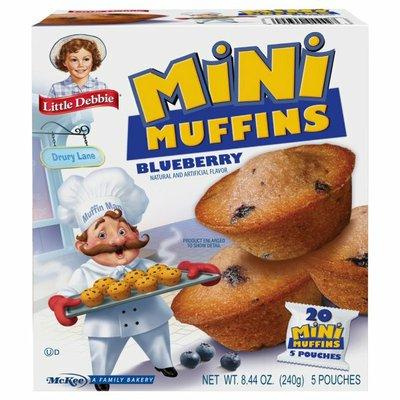 Little Debbie Mini Muffins Blueberry