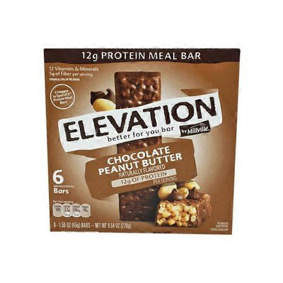 Fit & Active Chocolate Peanut Butter Protein Meal Bars