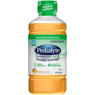 Pedialyte Electrolyte Solution Tropical Fruit