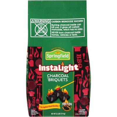 Springfield Instalight No Lighter Fluid Needed  Charcoal Briquets