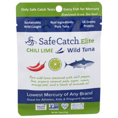 Safe Catch Wild Tuna, Chili Lime