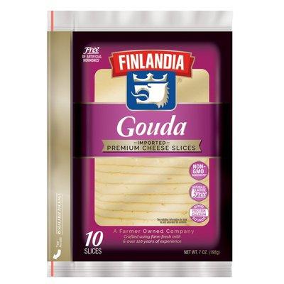 Finlandia Gouda Imported Premium Cheese Slices