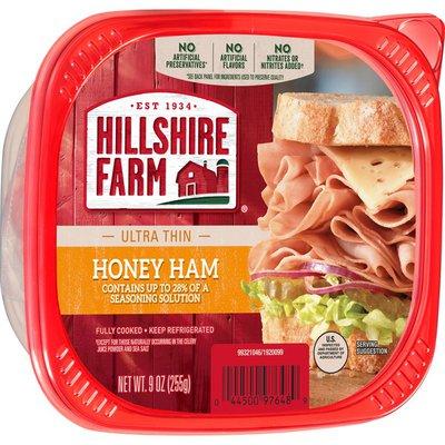 Hillshire Farm Ultra Thin Sliced Honey Ham Deli Meat