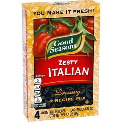 Good Seasons Zesty Italian Dressing & Recipe Seasoning Mix