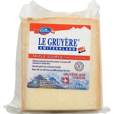 Emmi Cheese, Triple Source, Gruyere