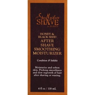 Shea moisture shave honey and black seed
