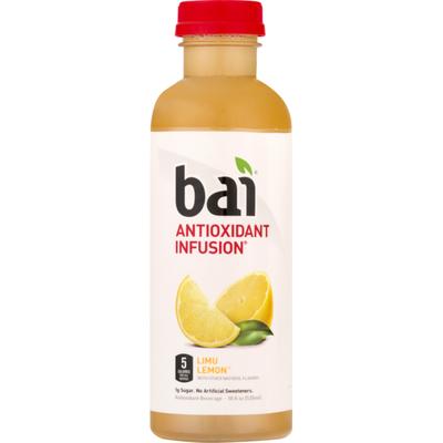 Bai 5 Antioxidant Infusion Beverage Limu Lemon