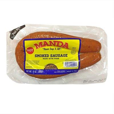 Mandia Ciboitaliano Hot Smoked Sausage