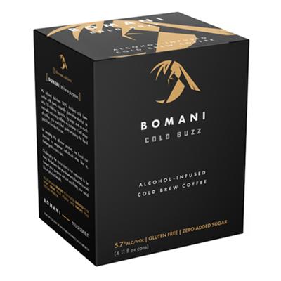 BOMANI Cold Buzz Alcohol-Infused Cold Brew Coffee - Original