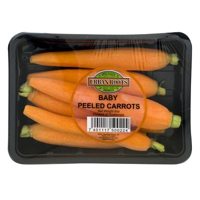 Urban Roots Baby Peeled Carrots