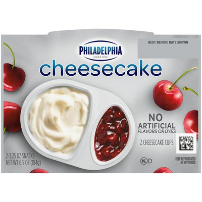 Philadelphia Cherry Cheesecake Refrigerated Snacks