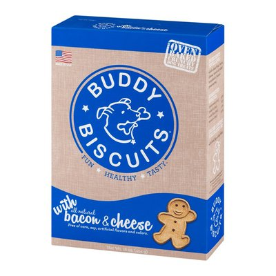 Buddy Biscuits With Bacon & Cheese